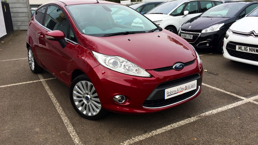 Used Ford FIESTA Hatchback 1.4 Titanium 3dr