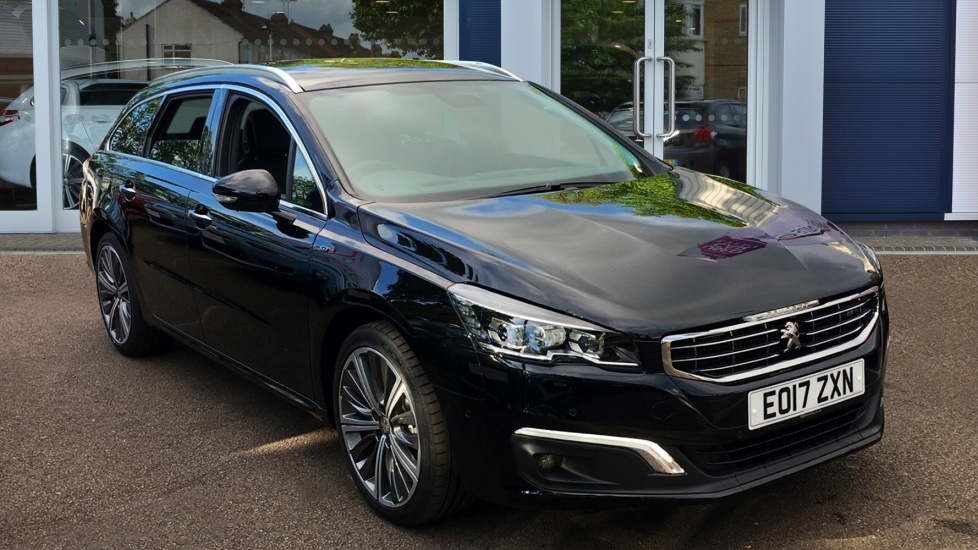 Zupełnie nowe Used Peugeot 508 SW Estate 2.0 BlueHDi GT 5dr Automatic Black PD76