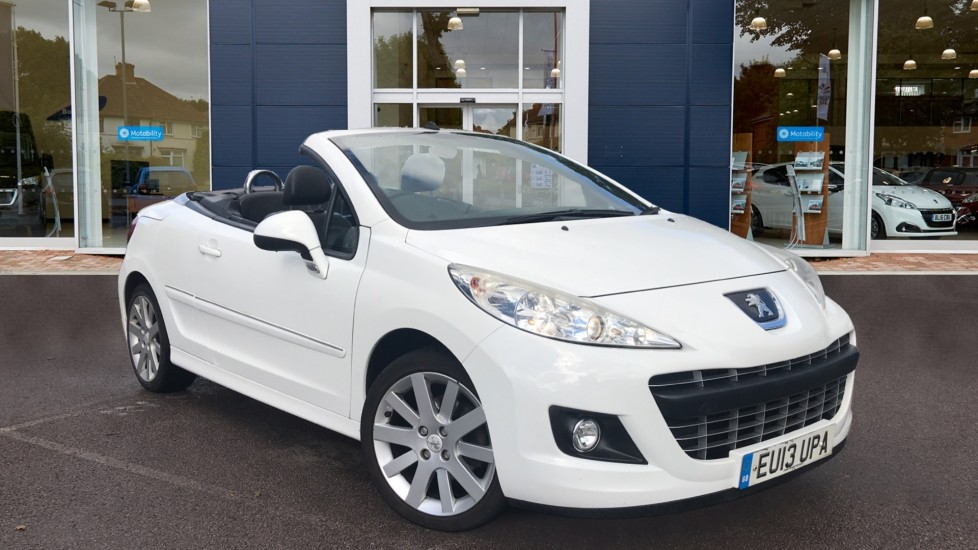 Used Peugeot 207 CC Convertible 1.6 HDi Allure 2dr
