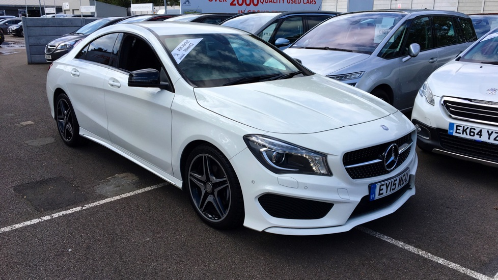 Used Mercedes-benz CLA CLASS Coupe 1.6 CLA180 AMG Sport COMAND 4dr (start/stop)