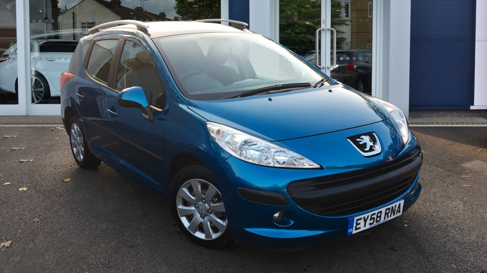 Used Peugeot 207 SW Estate 1.6 VTi S 5dr (a/c)