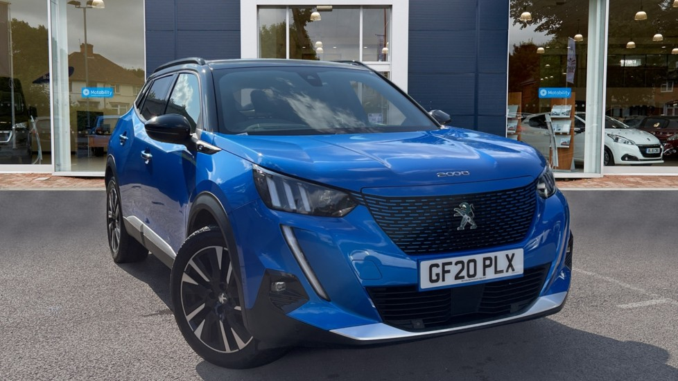 Used Peugeot e-2008 SUV 50kWh GT Line Auto 5dr