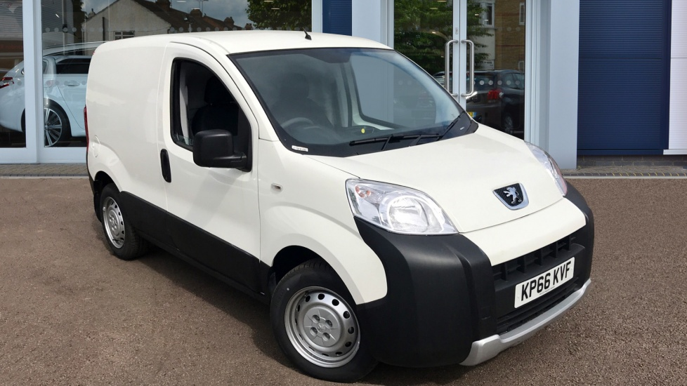 Used Peugeot BIPPER Panel Van 1.3 HDi (Eu6) S ATV Panel Van 3dr
