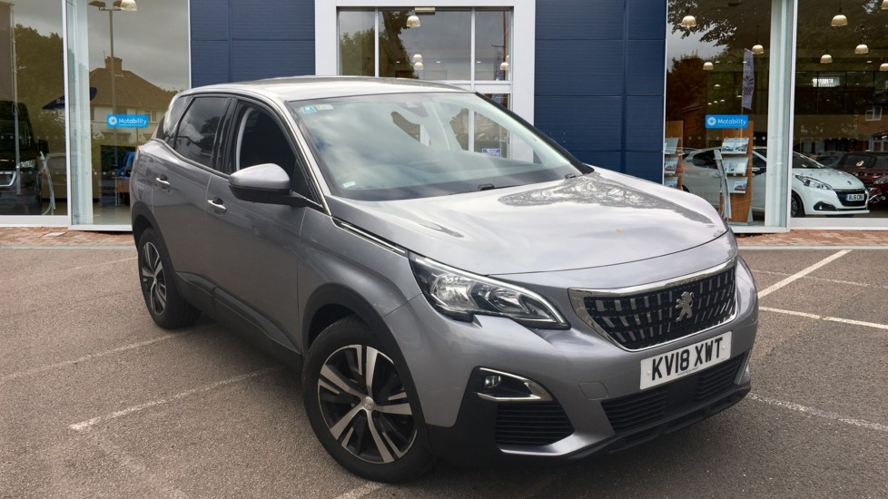 Used Peugeot 3008 SUV SUV 1.6 BlueHDi Active EAT (s/s) 5dr