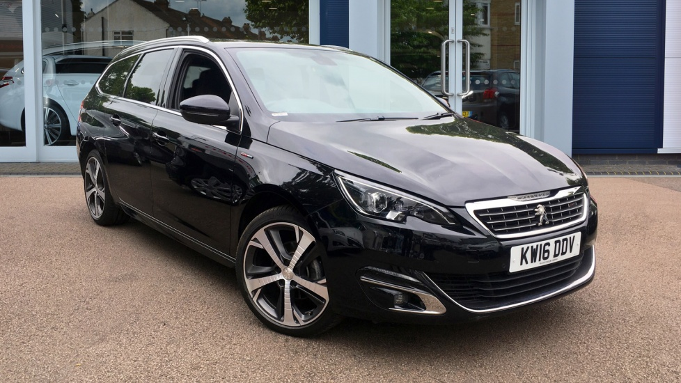 Used Peugeot 308 SW Estate 1.6 BlueHDi GT Line EAT6 5dr (start/stop)