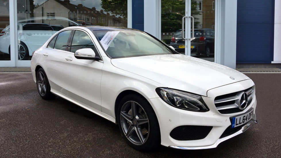 Used Mercedes-benz C CLASS Saloon 2.1 C220 CDI BlueTEC AMG Line Saloon 4dr (start/stop)