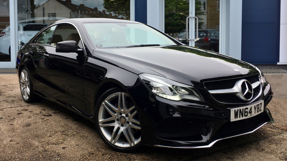 Used Mercedes-benz E CLASS Coupe 2.1 E250 CDI AMG Line 7G-Tronic Plus 2dr