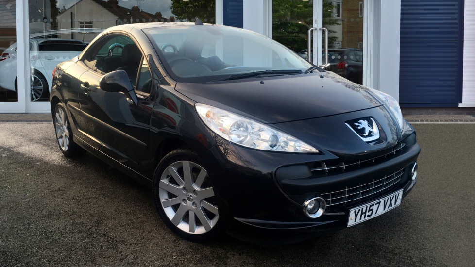 Used Peugeot 207 CC Convertible 1.6 HDi FAP GT 2dr