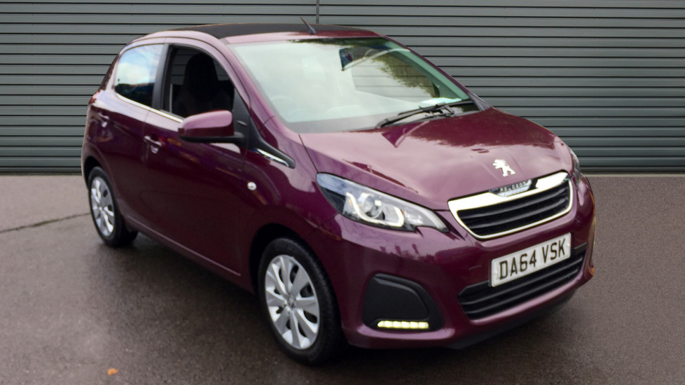 Used Peugeot 108 Convertible 1.0 Active TOP! 5dr