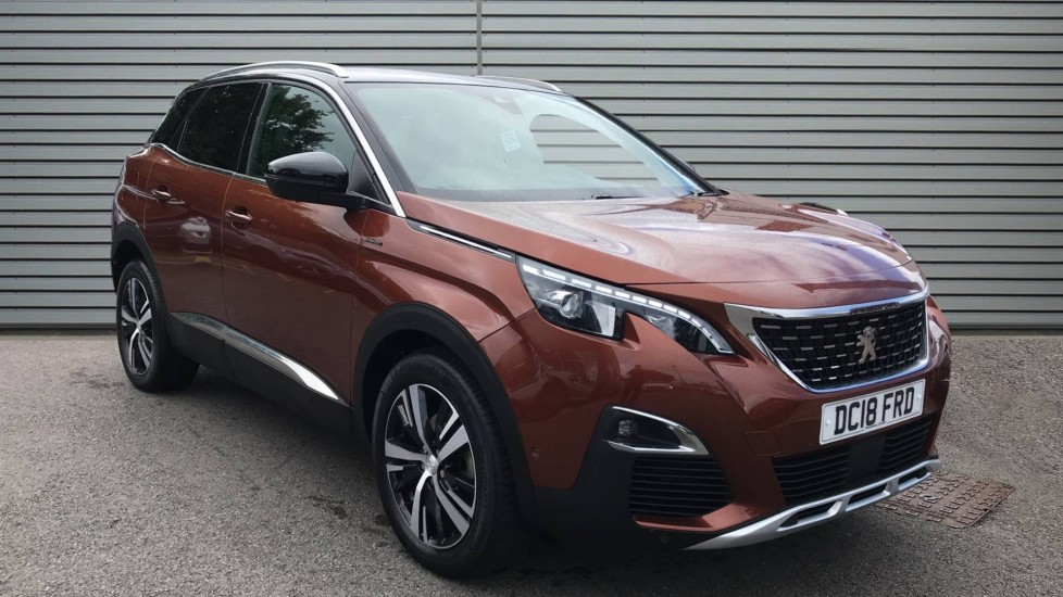 Used Peugeot 3008 SUV SUV 1.5 BlueHDi GT Line EAT (s/s) 5dr