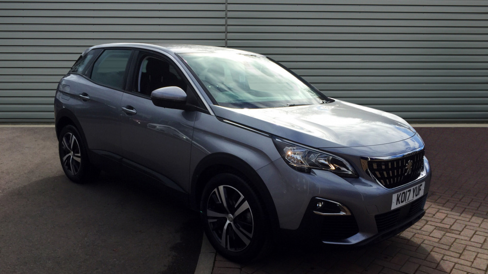 Used Peugeot 3008 SUV SUV 1.6 BlueHDi Active EAT6 (s/s) 5dr