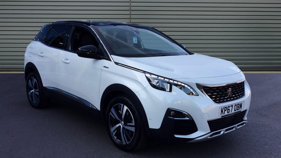 Used Peugeot 3008 SUV SUV 1.6 BlueHDi GT Line (s/s) 5dr