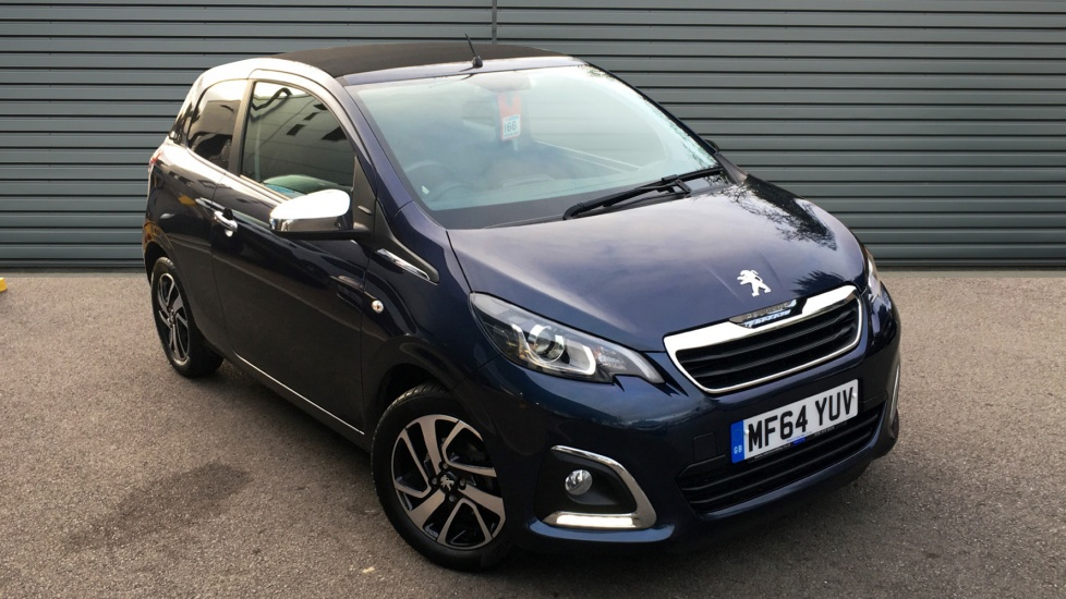 Used Peugeot 108 Convertible 1.2 VTi PureTech Allure TOP! 3dr