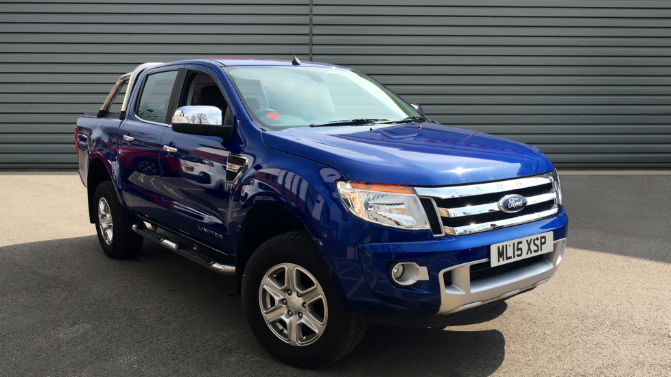 Used Ford RANGER Pickup 2.2 TDCi Limited Double Cab Pickup 4x4 4dr (EU5)