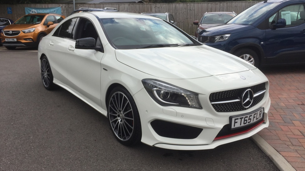 Used Mercedes-benz CLA Class Coupe 2.0 CLA250 AMG 7G-DCT 4MATIC (s/s) 4dr