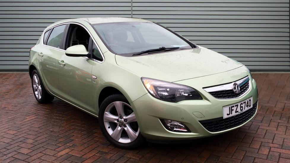 Used Vauxhall ASTRA Hatchback 1.4 i VVT 16v SRi 5dr
