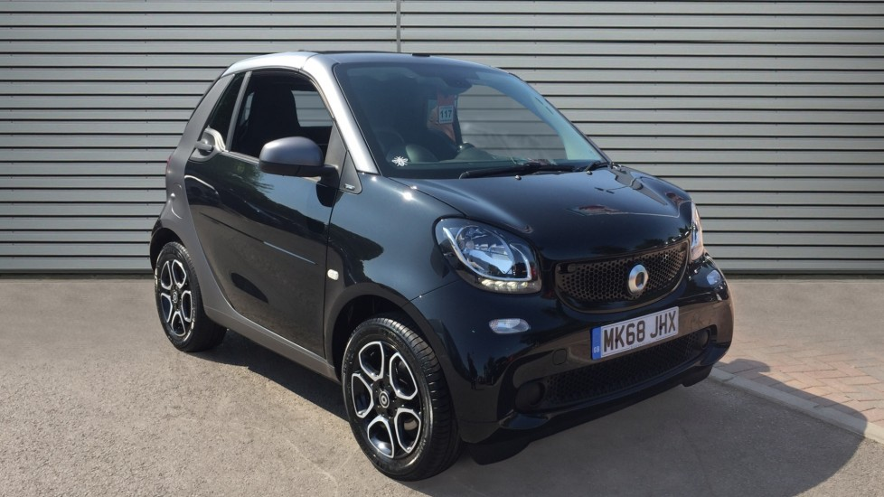 Used Smart fortwo Convertible 1.0 Prime (Premium) Cabriolet Twinamic (s/s) 2dr