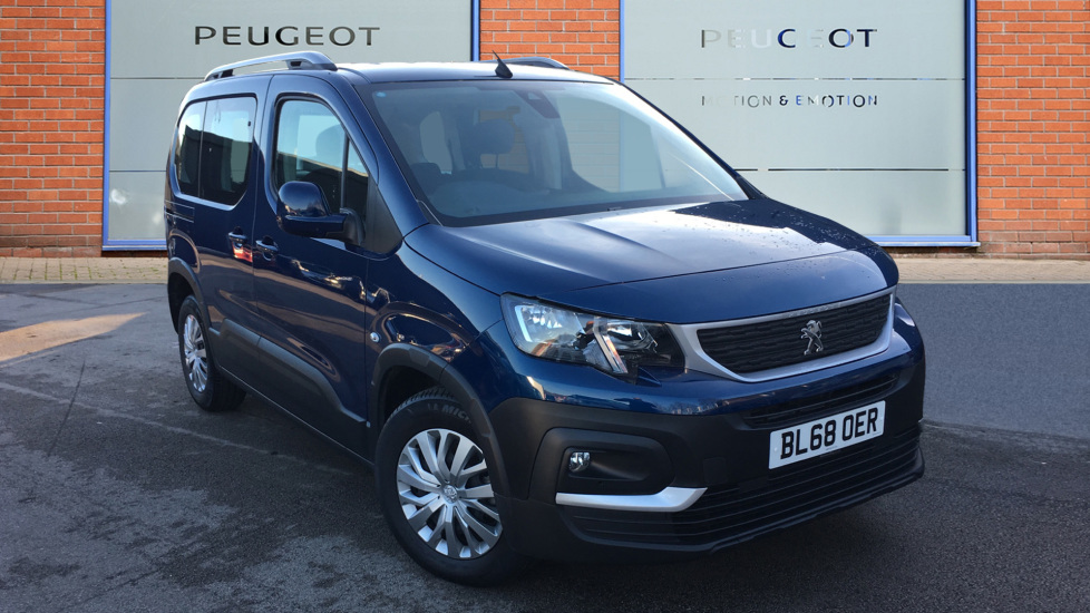 Used Peugeot Rifter MPV 1.5 BlueHDi Active EAT (s/s) 5dr
