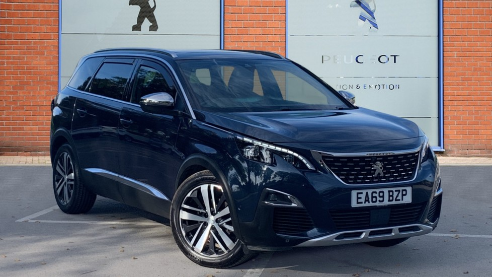 Used Peugeot 5008 SUV 2.0 BlueHDi GT EAT Auto 6Spd (s/s) 5dr