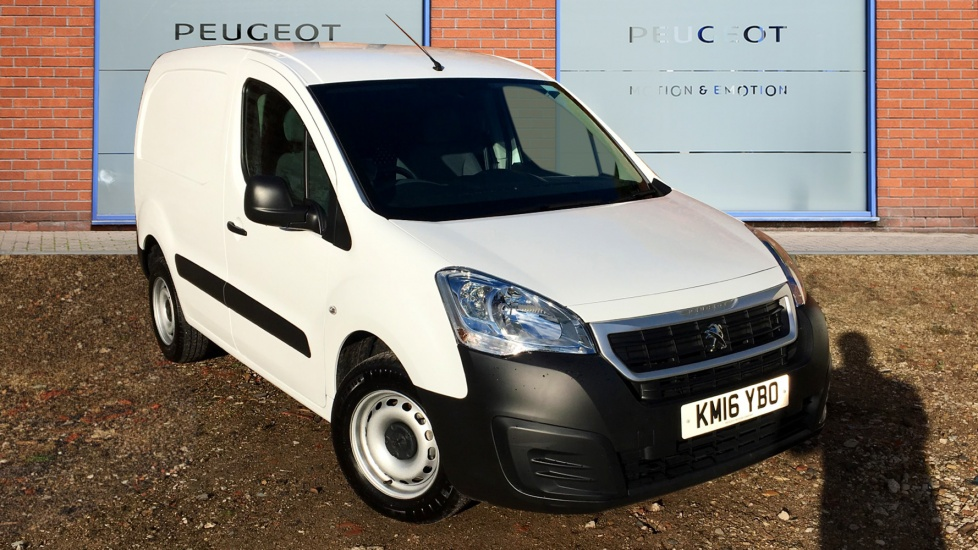 Used Peugeot PARTNER Panel Van 1.6 HDi S L1 850 ATV Panel Van 4dr