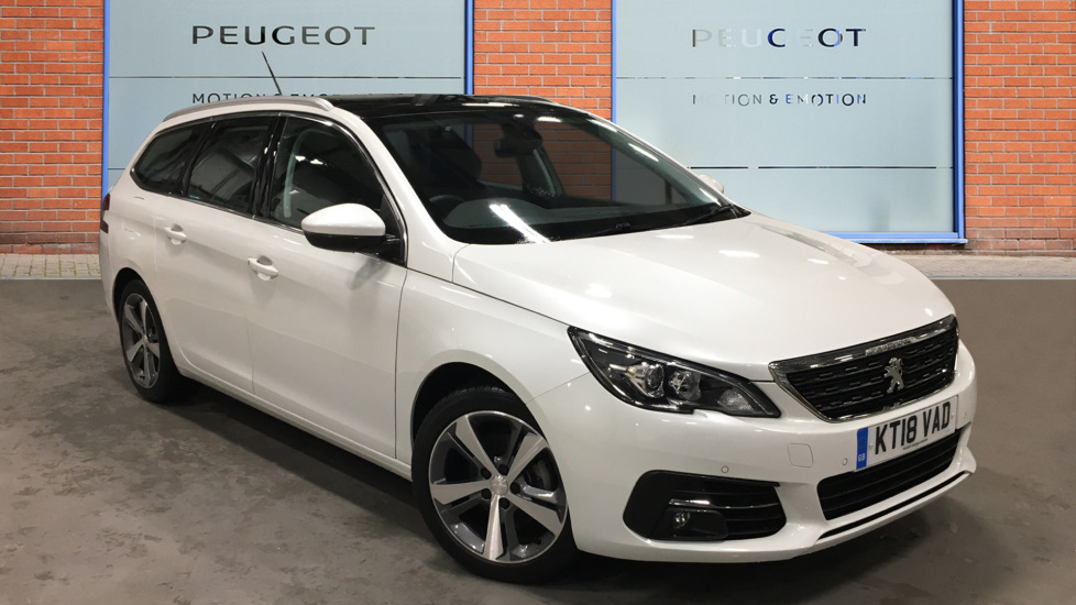 Used Peugeot 308 SW Estate 1.5 BlueHDi Allure (s/s) 5dr