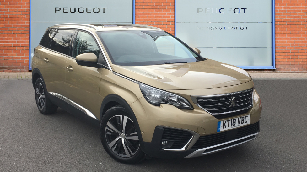 Used Peugeot 5008 SUV 1.6 BlueHDi Allure EAT (s/s) 5dr