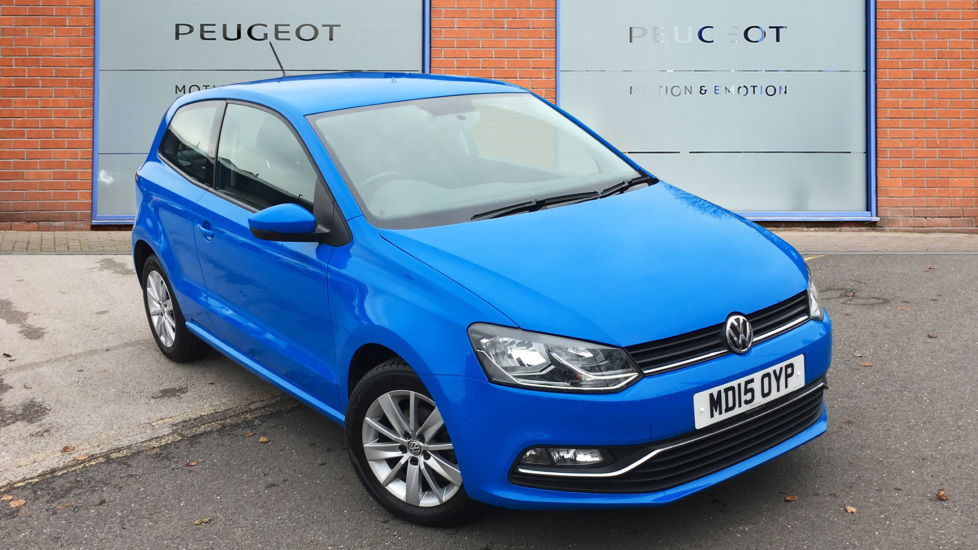 Used Volkswagen POLO Hatchback 1.2 TSI BlueMotion Tech SE (s/s) 3dr