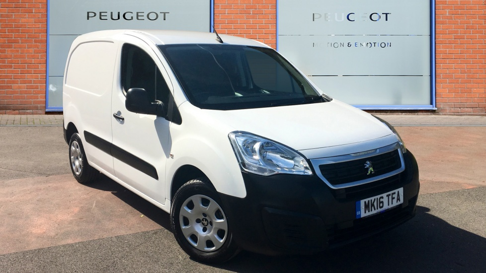 Used Peugeot PARTNER Panel Van 1.6 HDi Professional L1 850 4dr
