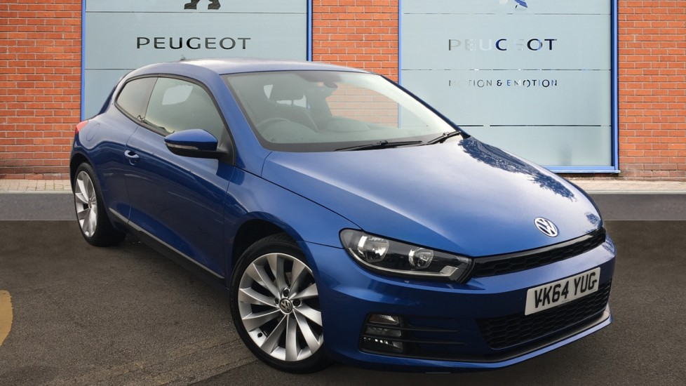 Used Volkswagen Scirocco Coupe 2.0 TDI BlueMotion Tech GT Hatchback 3dr