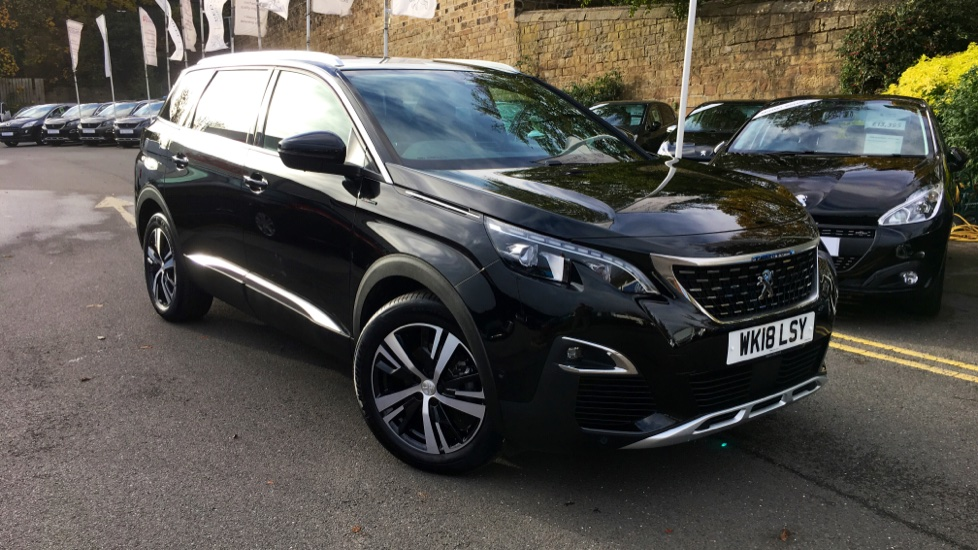 Used Peugeot 5008 SUV 1.6 BlueHDi GT Line (s/s) 5dr