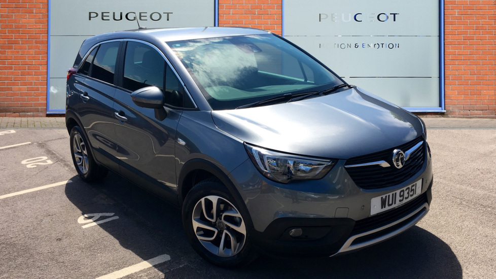 Used Vauxhall CROSSLAND X SUV 1.5 Turbo D ecoTEC BlueInjection Tech Line Nav SUV (s/s) 5dr