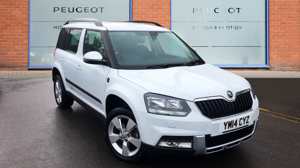 Used Skoda YETI SUV 2.0 TDI CR DPF Tour de France Outdoor 4x4 5dr