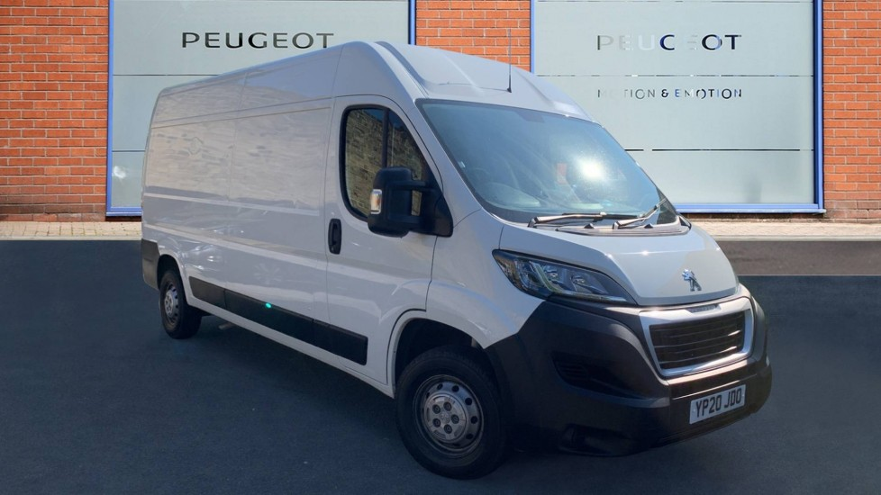 Used Peugeot Boxer Panel Van 2.2 BlueHDi 335 Professional L3 H2 EU6 (s/s) 5dr