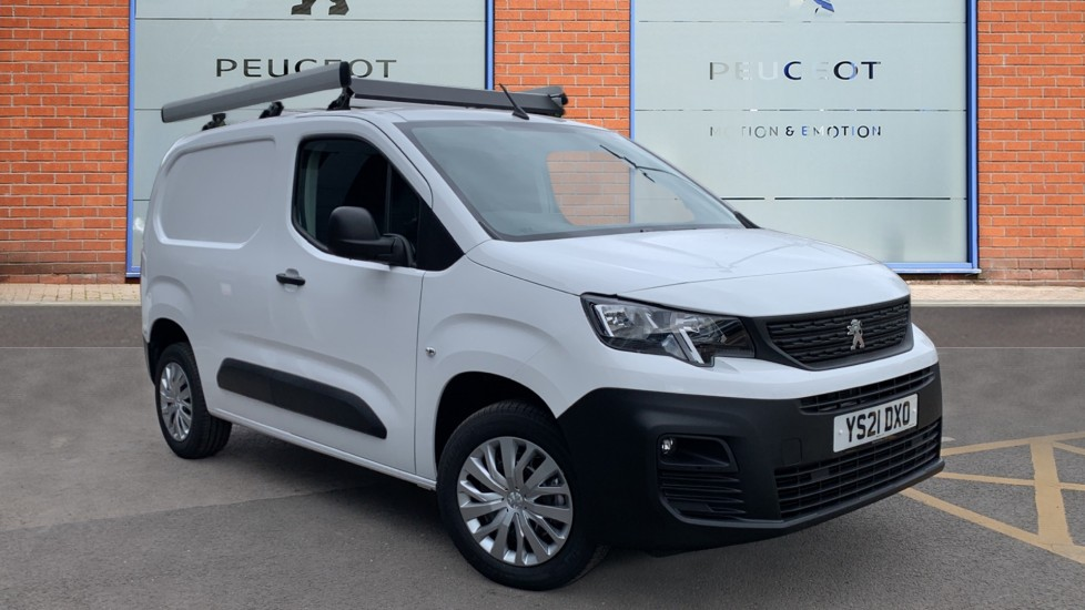 Used Peugeot Partner Panel Van 1.5 BlueHDi 1000 Professional Premium Standard Panel Van SWB EU6 5dr