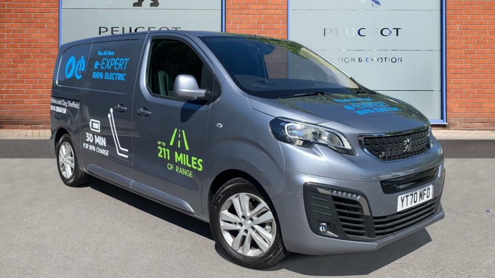Used Peugeot e-Expert Panel Van e 1200 75kWh Asphalt Standard Panel Van Auto SWB N/A 6dr