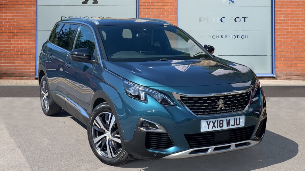Used Peugeot 5008 SUV 1.6 THP GT Line EAT (s/s) 5dr
