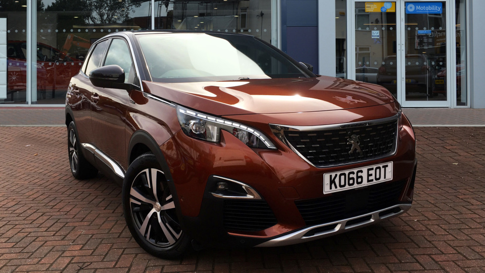 Used Peugeot 3008 SUV SUV 1.6 BlueHDi GT Line SUV 5dr (start/stop)