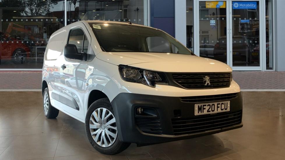 Used Peugeot Partner Panel Van 1.5 BlueHDi 1000 Professional Standard Panel Van SWB EU6 (s/s) 5dr