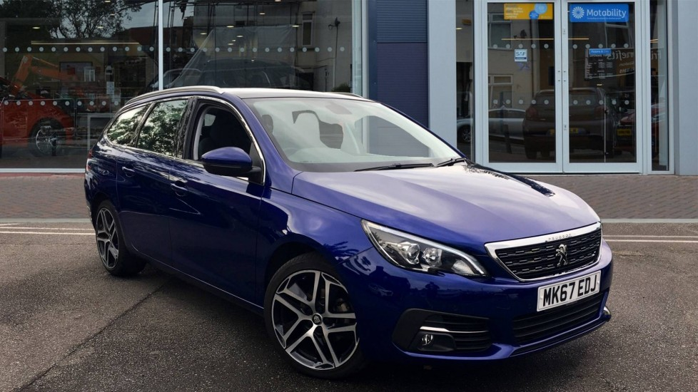 Used Peugeot 308 SW Estate 1.2 PureTech Allure (s/s) 5dr