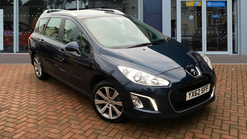 Used Peugeot 308 SW Estate 1.6 e-HDi Active 5dr (start/stop)