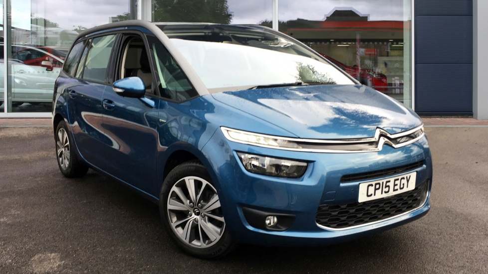 Used Citroen GRAND C4 PICASSO MPV 1.6 BlueHDi Exclusive 5dr (start/stop)