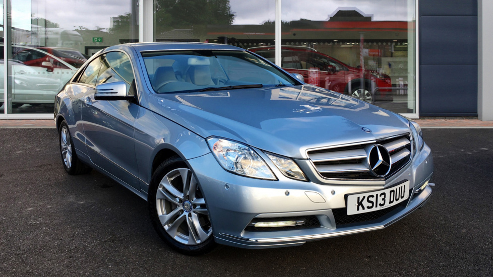 Used Mercedes-benz E CLASS Coupe 2.1 E220 CDI BlueEFFICIENCY SE 7G-Tronic Plus 2dr