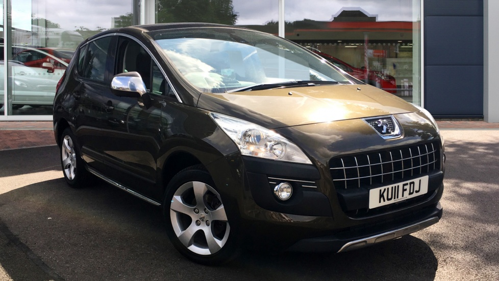Used Peugeot 3008 SUV 1.6 HDi FAP Exclusive SUV EGC 5dr