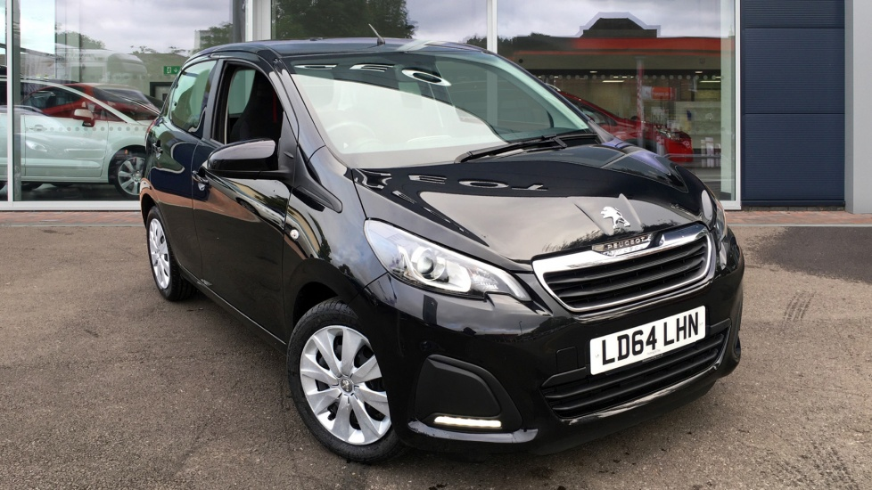 Used Peugeot 108 Hatchback 1.0 Active TOP! 2-Tronic 5dr