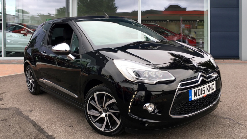 Used Citroen DS3 CABRIO Convertible 1.6 THP DSport Plus Cabriolet 2dr (start/stop)