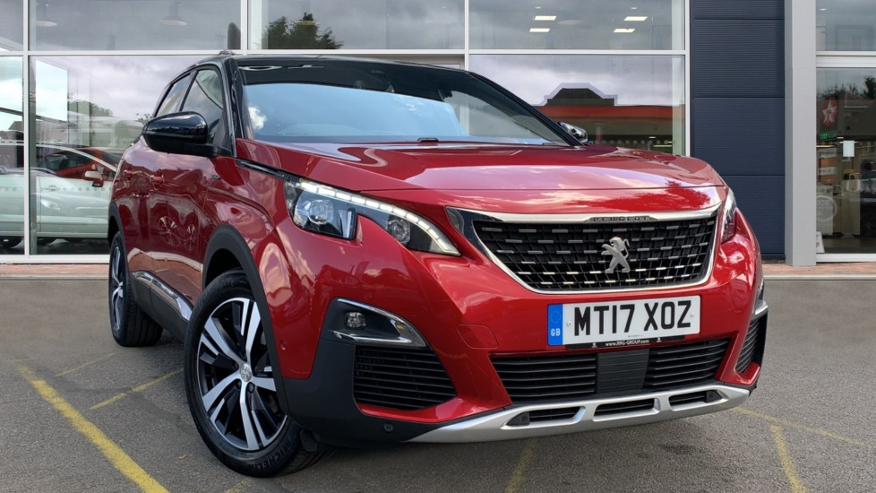 Used Peugeot 3008 SUV SUV 1.2 PureTech GT Line EAT (s/s) 5dr