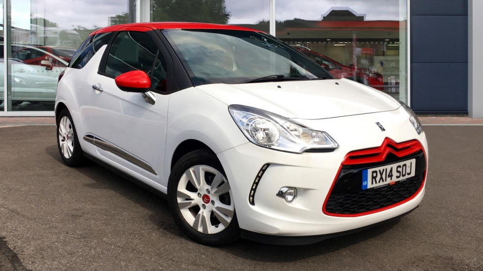 Used Citroen DS3 Hatchback 1.6 e-HDi Airdream DStyle Red 3dr