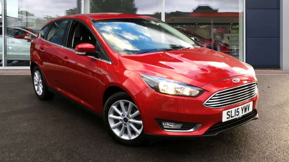 Used Ford FOCUS Hatchback 1.6 Ti-VCT Titanium Hatchback Powershift 5dr
