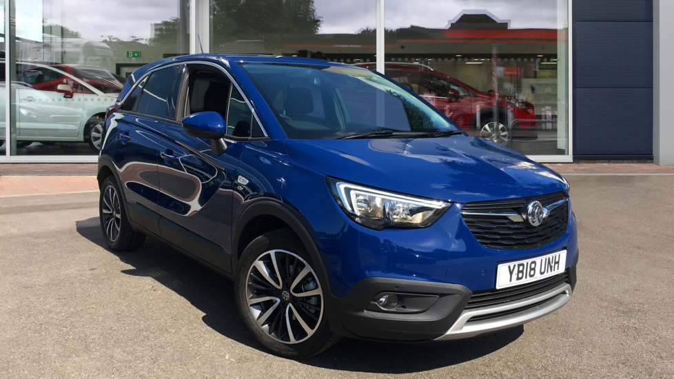 Used Vauxhall CROSSLAND X SUV 1.6 D Turbo BlueInjection Elite (s/s) 5dr