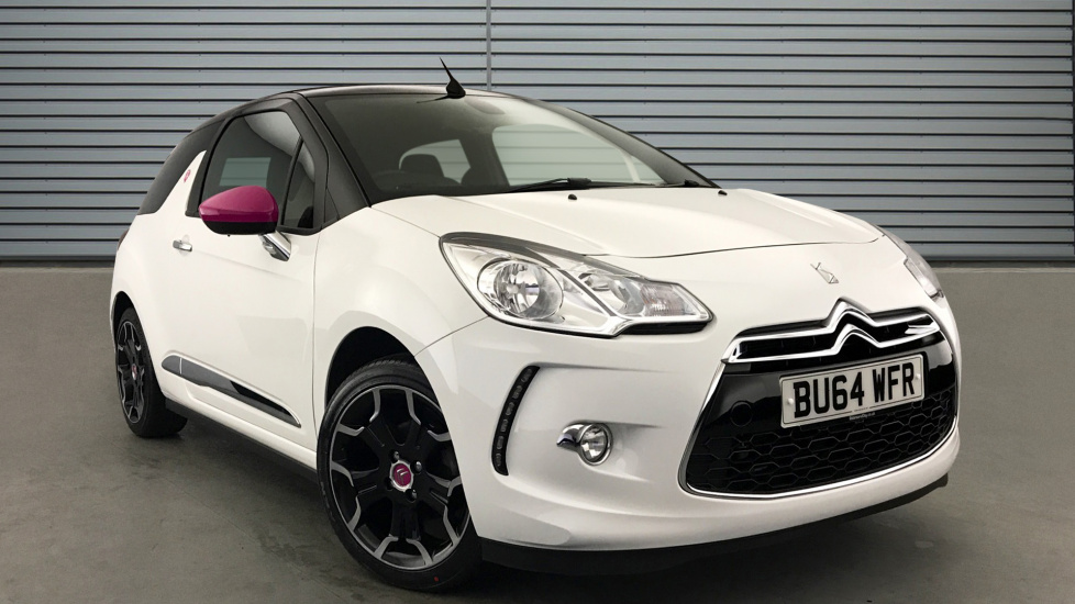 Used Citroen DS3 CABRIO Convertible 1.6 VTi DStyle By Benefit Cabriolet 2dr